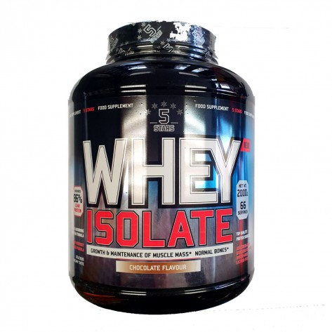 5 STARS NUTRITION WHEY ISOLATE 2 KG