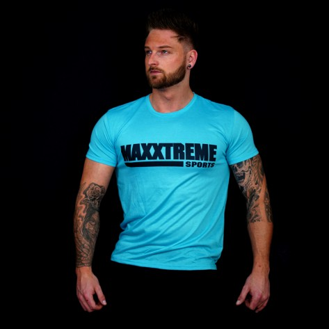 Maxxtreme Basic Workout T-Shirt Blue