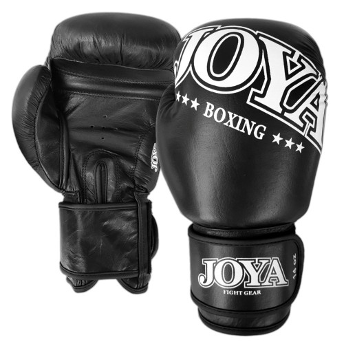 Joya Boxing Gloves New Model Leather Black