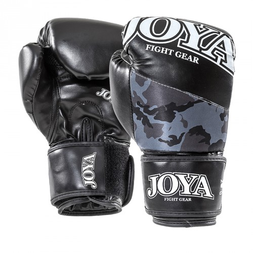 "Joya ""Top One"" Kickboxing Gloves PU CAMO BLACK"