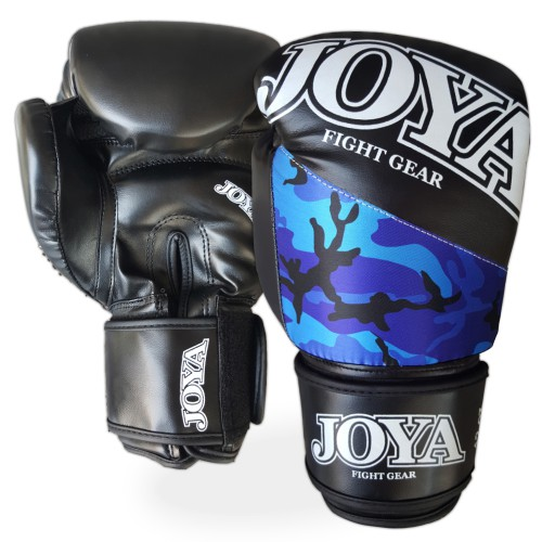 "Joya ""Top One"" Kickboxing Gloves PU CAMO BLUE"
