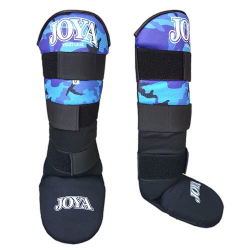"Joya ""VELCRO"" Shinguard Camo Blue"