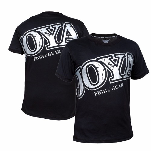 "Joya T-Shirt ""Faded Black"" Silver"