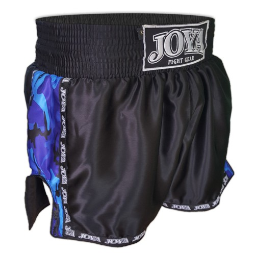 "Joya Kickboxing Short ""Camo Blue"""