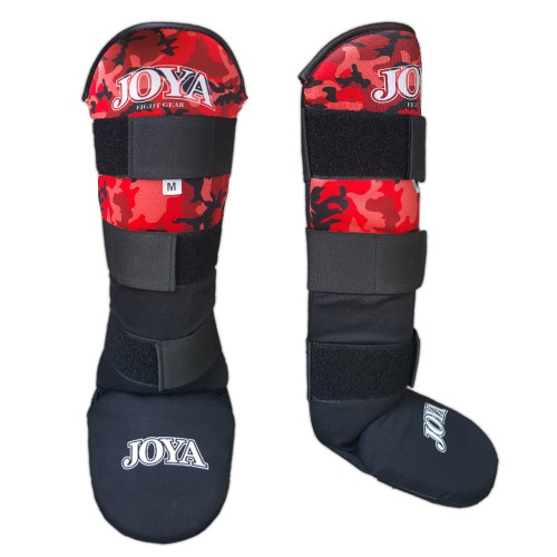 Joya Velcro Shinguard Camo Red