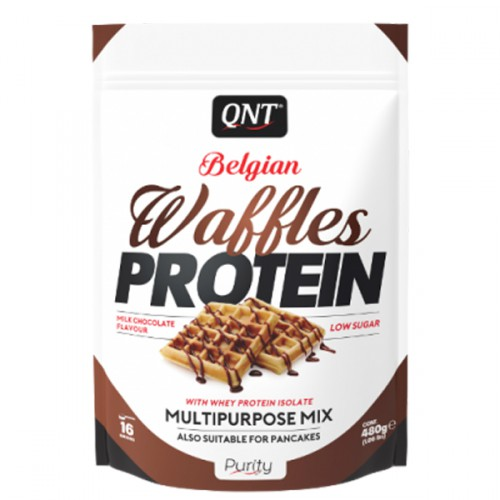 QNT BELGIAN WAFFLES PROTEIN-Milk Chocolate