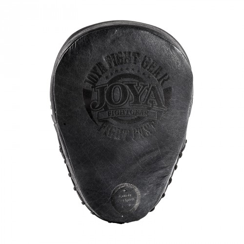 "Joya Focus Pads ""Fight Fast"" Leather Faded Black"